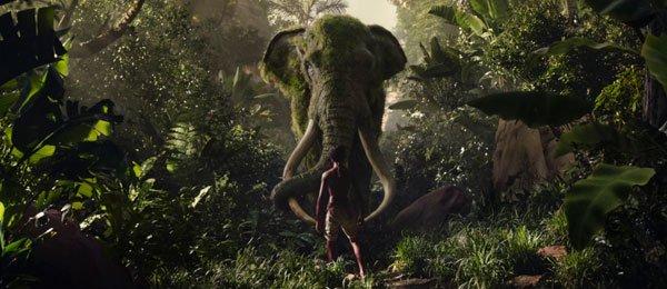 Mowgli hopes the elephant will kill the hunter