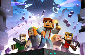 Preview preview minecraft story mode netflix