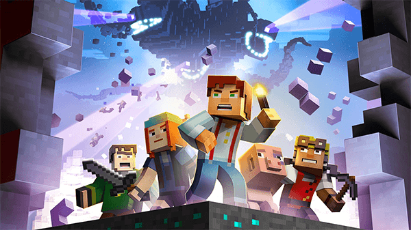 The world of Minecraft focused on telling a tale in Minecraft Story Mode.