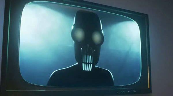 Villain Screensaver appears on TV
