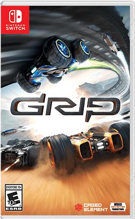 GRIP: Combat Racing Box Art