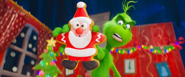 The Grinch despises Santa cookies!