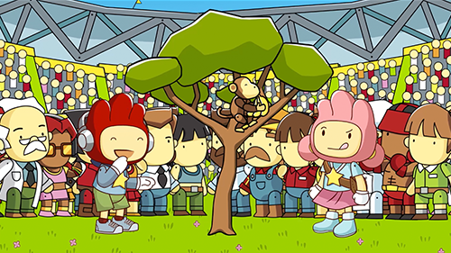 Maxwell and Lily return in the new Scribblenauts.