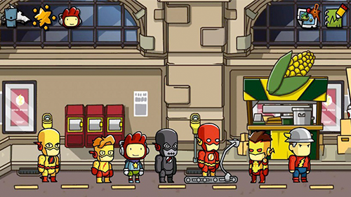 Scribblenauts Unmasked was the last game in the series to come to console.