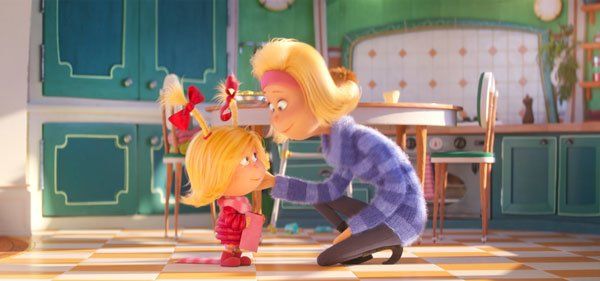 Cindy-Lou's overworked mom loves her a lot.