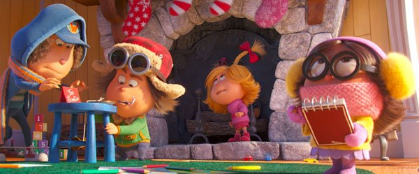 Cindy-Lou and friends plan their Santa capture