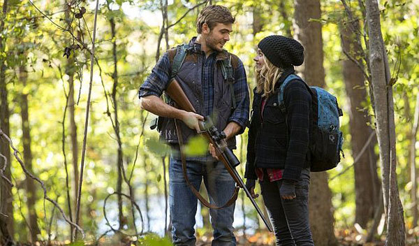 Alex with Chloë Grace Moretz in The 5th Wave