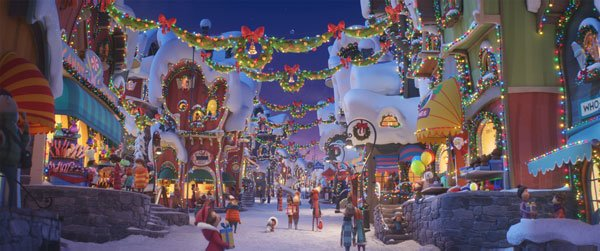 Whoville is three times more decorated this year