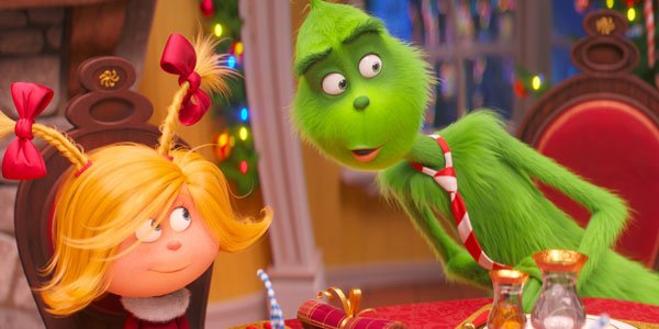 Dr. Seuss' The Grinch Movie Review: A Kinder Green Meanie