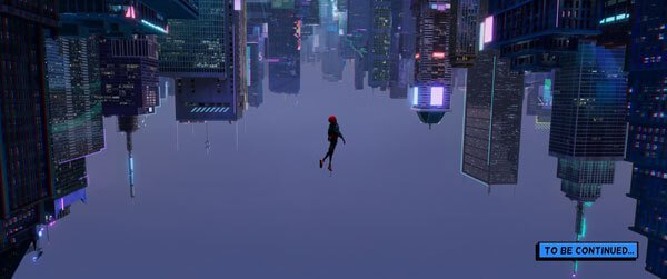 Miles Morales (Spider-Man) falls into an alternate NYC