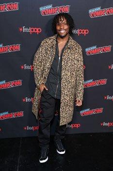 Shameik Moore at New York Comic-Con