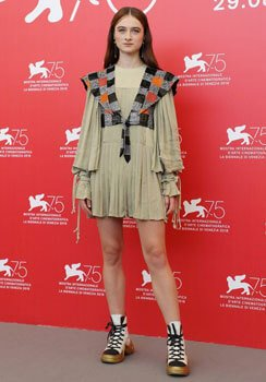 Stylish Raffey at the Venice Film Festival