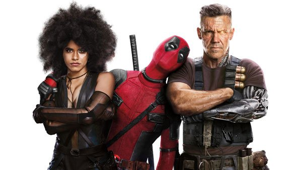 Deadpool with Domino and Cable