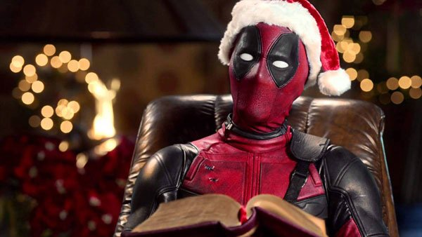 Deadpool reads a warm and fuzzy version of his story