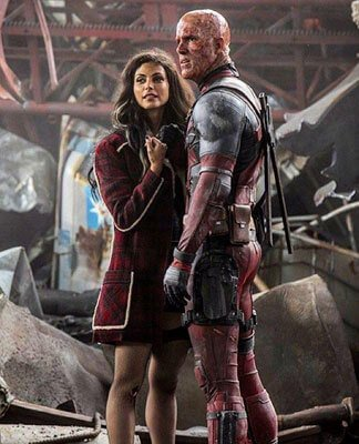 Deadpool unmasked with girlfriend Vanessa