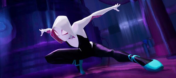 Spider-Gwen comes to help