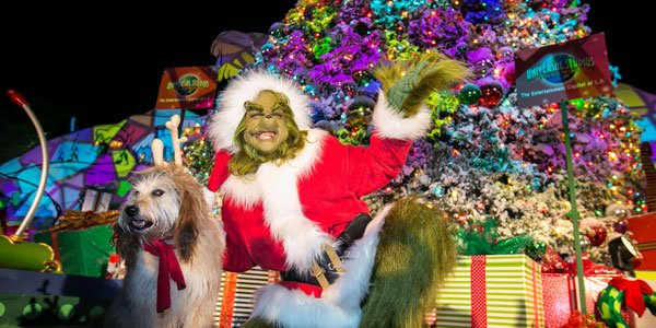 Grinchmas and Best of 2018 at Universal Studios Hollywood