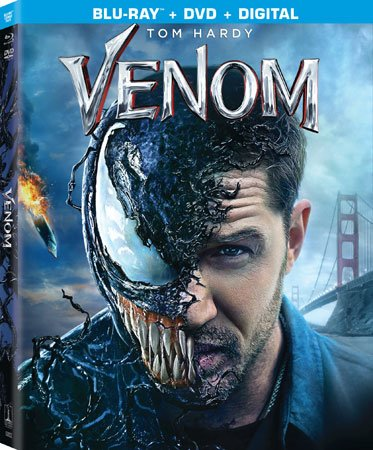 Venom Blu-ray Cover