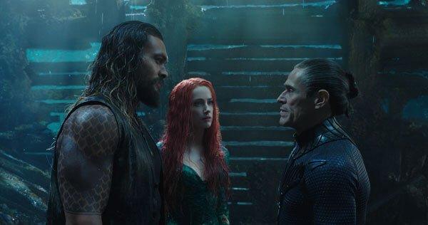 Vulko advises Aquaman and Mera