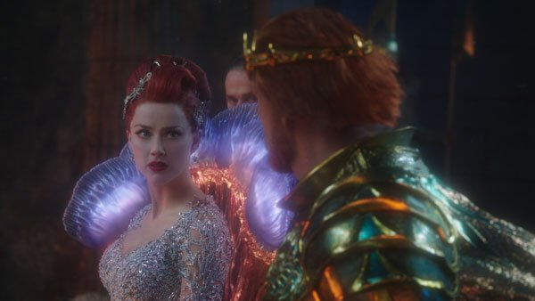 Gorgeous Mera learns that her father supports Orm's war