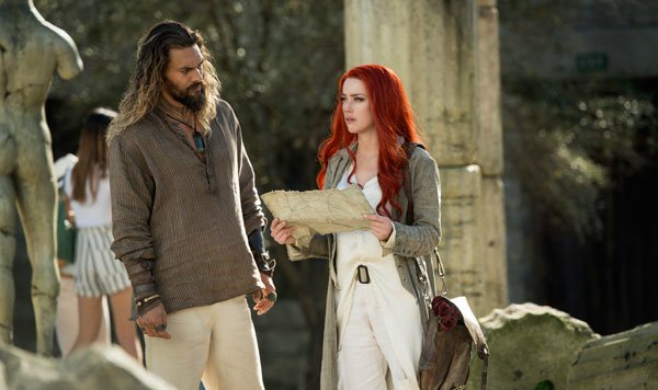 Arthur/Aquaman and Mera search for the trident