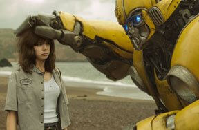 Preview bumblebee movie charlie hailee steinfeld pre
