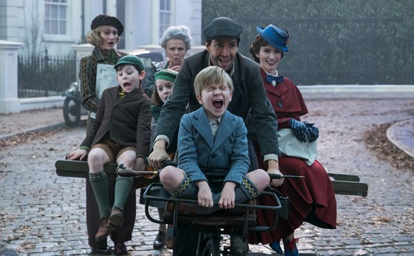 Jack gives Mary and the kids a ride