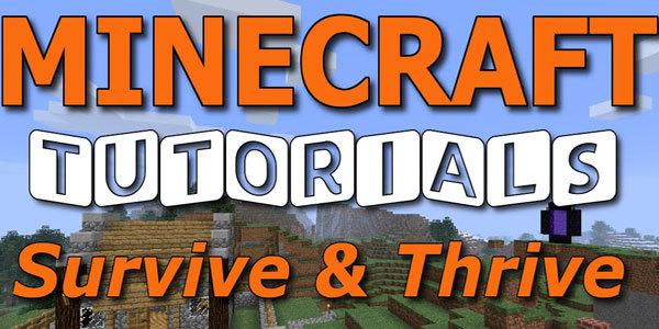Feature minecraft survive thrive feat