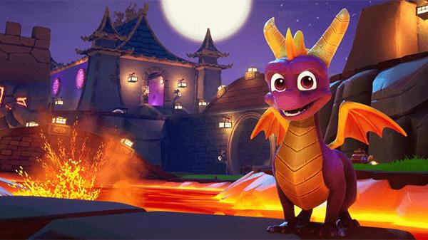 Spyro looks like a cartoon and plays like a genuine classic.