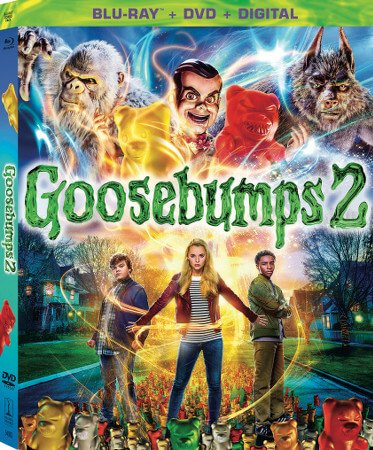 Goosebumps 2 Blu-ray and DVD Cover Art