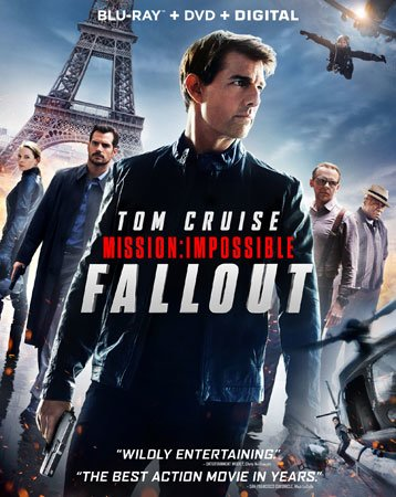 Mission: Impossible - Fallout Blu-ray Cover