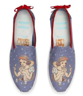 Feel like a Disney Princess in these TOMS shoes!