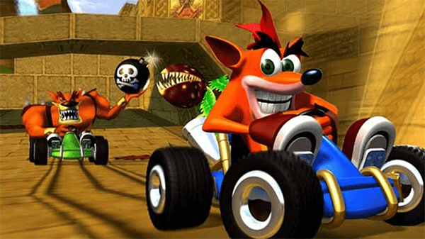 Crash Team Racing would modernize almost every PS1 Crash game... almost.