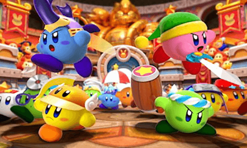 Kirby's colorful variations are still as recognizable as ever.