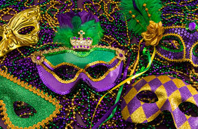 Preview mardi gras masks pre