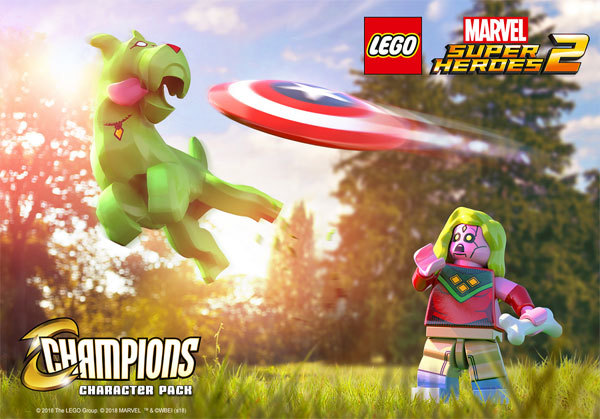 LEGO Marvel Super Heroes 2 Champions DLC Pack