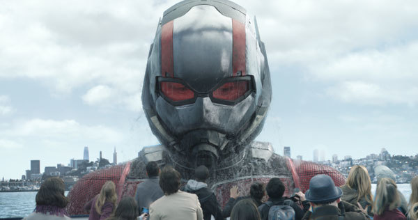 Ant-Man/Scott Lang in his Giant-Man form