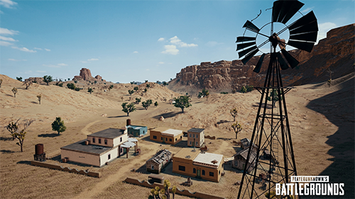 The game's newest map, Miramar, is still exclusive to PC.