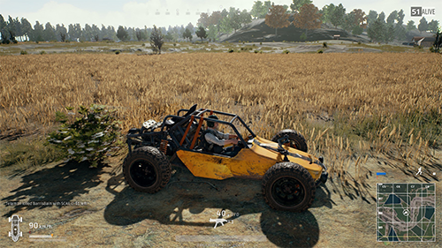 Deciding to sneak through some tall grass or cruise in a vehicle could be the difference between winning and losing.