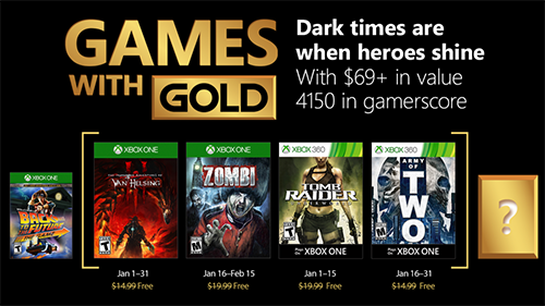 Xbox's Games with Gold lineup for Xbox 2018.