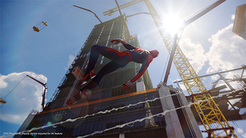 Hopefully Spider-Man plays as well as it looks.