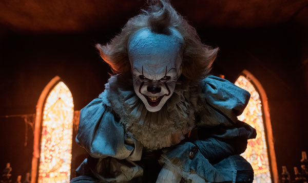 Pennywise's smile isn't welcoming
