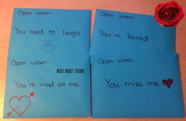 Open When letters let you be there for your bestie even when you can't be there