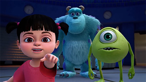 The main cast of Monsters Inc. will all be present in Kingdom Hearts 3.