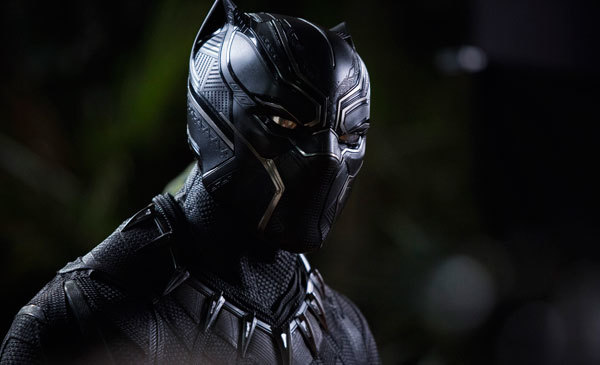 Black Panther suited up