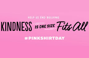 Think Pink: Stand Up For Anti-Bullying on Pink Shirt Day
