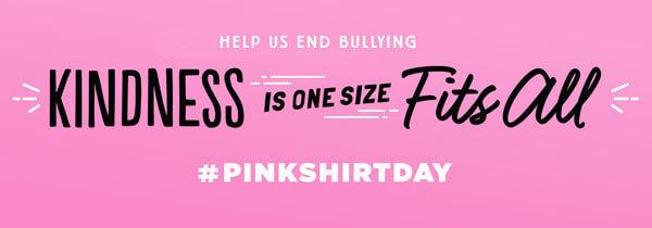 Stop Bullying Pink Shirt Day Anti-Bullying Speak Up Kids T-Shirt Wear pink