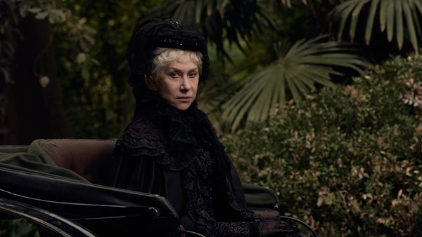 Helen Mirren as Sarah Winchester