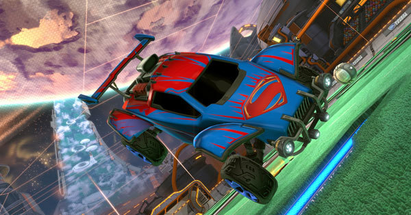 Superman - Octane Decal