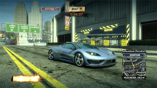 Burnout Paradise in 2008.